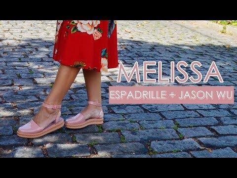 1 MELISSA, VÁRIOS LOOKS: Espadrille + Jason Wu ♥