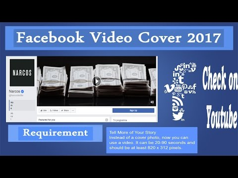 Facebook video Cover 2017. How to Set Video Cover In Facebook ?