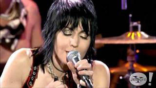 Joan Jett - Crimson & Clover / I Hate Myself ( Live )