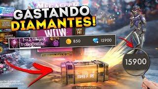 GASTANDO 16.000 DIAMANTES NO FREE FIRE!