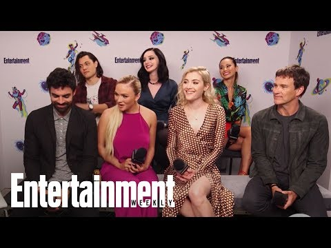 'The Gifted': Emma Dumont On Filming Polaris' Childbirth | SDCC 2018 | Entertainment Weekly