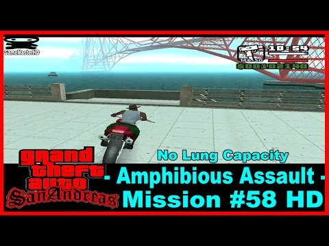 GTA San Andreas: How to level up your lung capacity for Woozy mission.