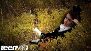 Behind the scenes of Lily Collins