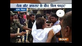Bihar: BJP leader and SDO scuffle over demolition of illegal encroachment in Munger
