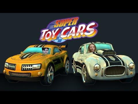 Super Toy Cars ♦Игрушечные Гонки♦ [ИНДИ ИГРЫ НА ДВОИХ]