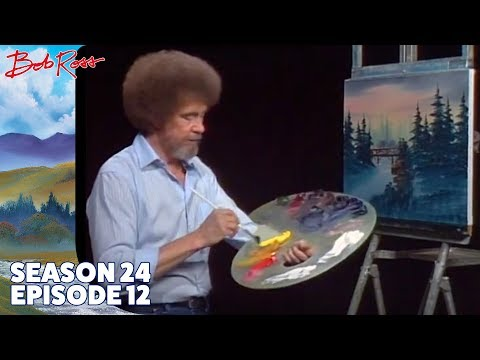 Bob Ross - The Footbridge (Season 24 Episode 12)