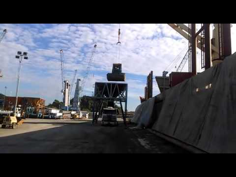 Mv Orient Accord at Sao Francisco do Sul Port | Discharging Operations at Hold #01 (June 15th, 2016)