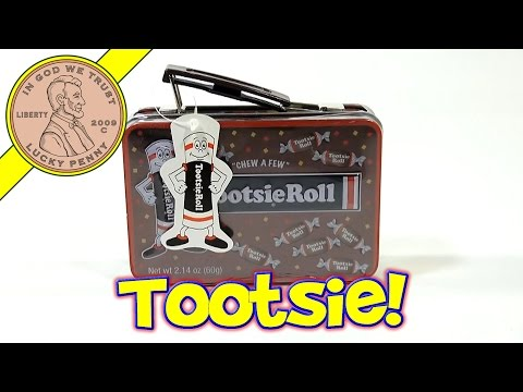 Tootsie Roll Mini Metal Lunch Box