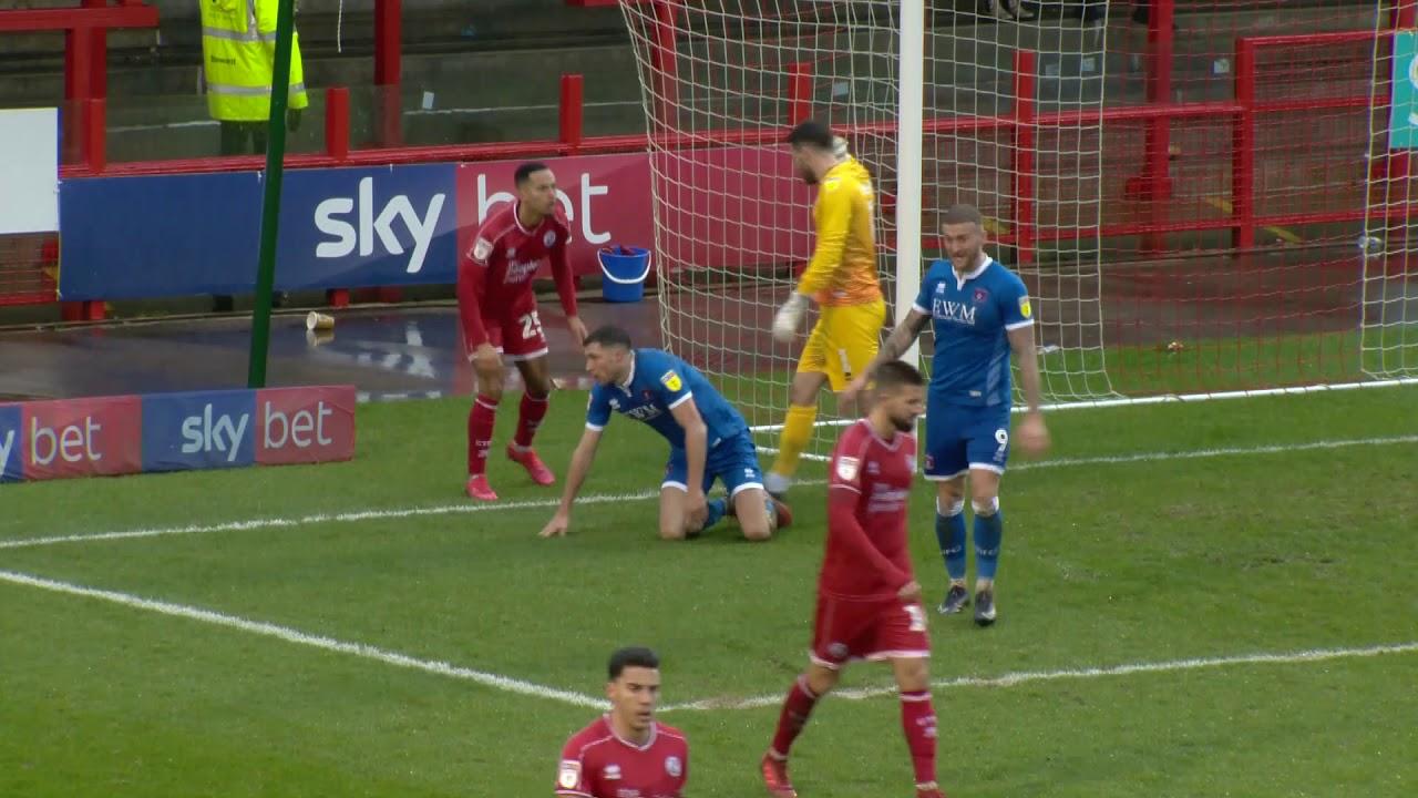 Кроули Таун  0-0  Карлайл Юнайтед видео