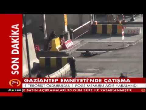 Gaziantep'te olay yerinden görüntüler! İşte o terörist