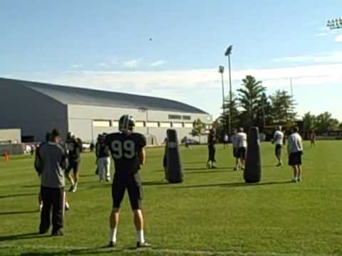 Missouri special teams drills (Nebraska week practice) -- Columbia Missourian