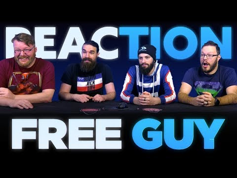 Free Guy | Official Trailer REACTION!!