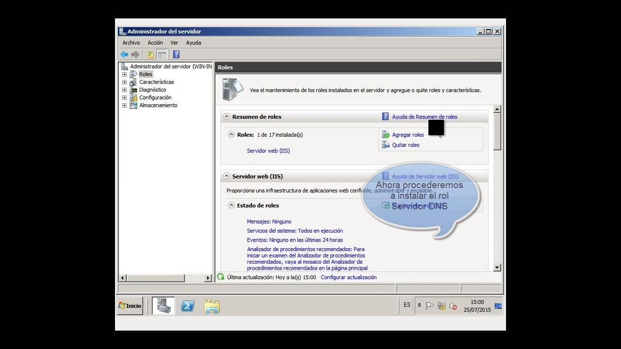 Windows Server 2008 R2 instalación del DNS. - YouTube