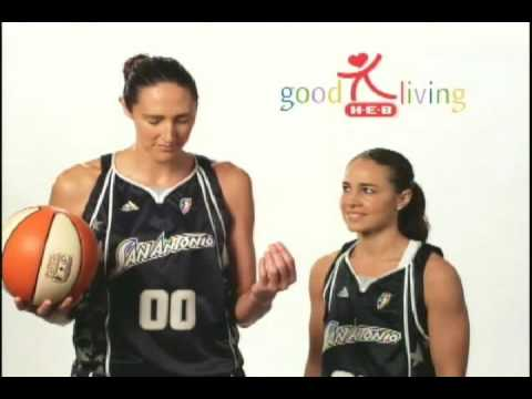 H-E-B Silver Stars Good Living Tips With Ruth Riley and Becky Hammon