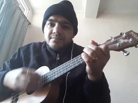Gazab ka hai din | qayamat se qayamat tak | unplugged ukulele cover | aman sharma