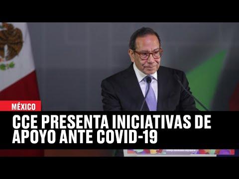 Consejo Coordinador Empresarial (CCE) Presenta Iniciativas De Apoyo Ante Pandemia De Covid-19