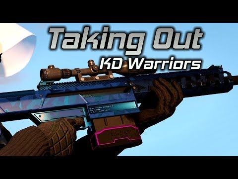 GTA Online: Taking out KD Warriors Preying...