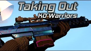 GTA Online: Taking out KD Warriors Preying on Low Levels