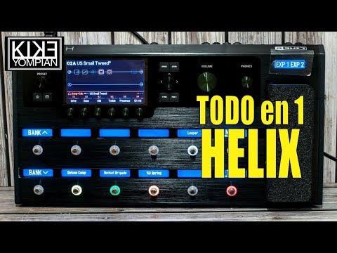 El HELIX de Line 6 - Un excelente procesador!