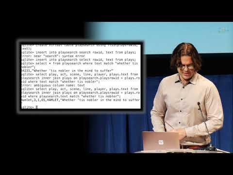 David Crawshaw   SQLite and Go