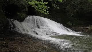 千葉県 大多喜町 平沢 平沢川 内梨の滝