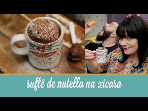 Suflê de Nutella na Xícara (feito com 2 ingredientes, pronto em 1 minuto) | Cozinha para 2