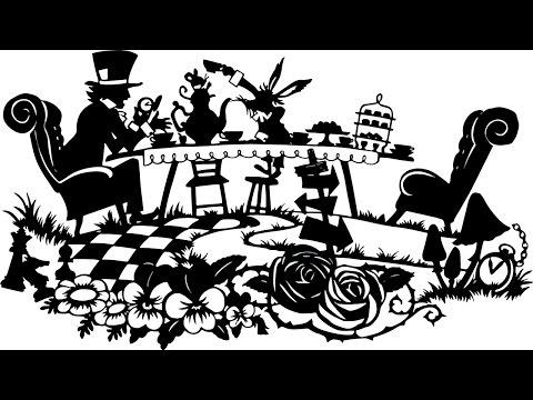 """切り絵作品「不思議の国のアリス」Papercutting """"Alice's Adventures"""""""