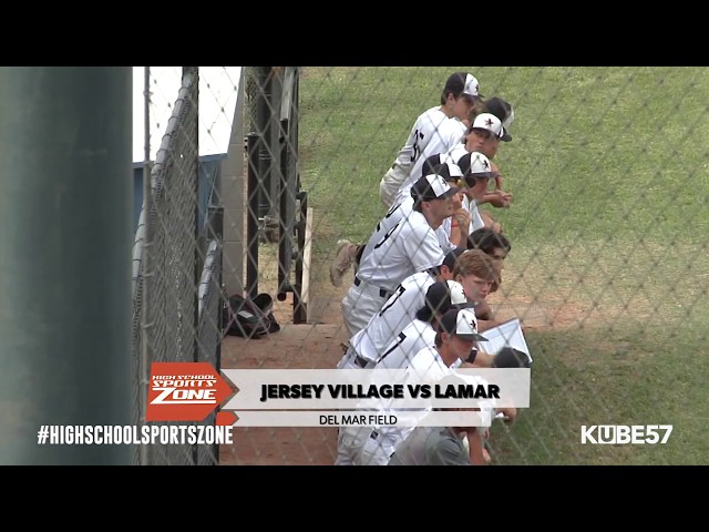 Lamar vs Jersey Village Baseball - Episode 5-4-19