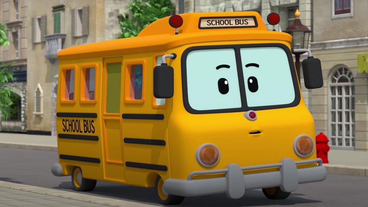 Едет автобус Музей песен | Песенки для детей Робокар Поли