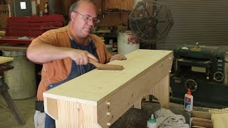 Building a Simple Wooden Bench