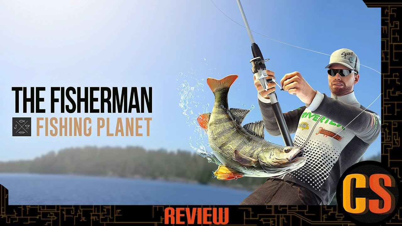 THE FISHERMAN - FISHING PLANET - PS4 REVIEW (Video Game Video Review)