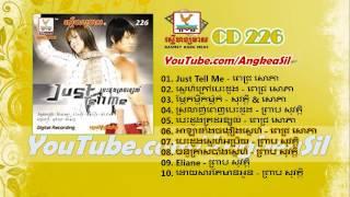 Just Tell Me By Pich Sophea RHM CD vol 226