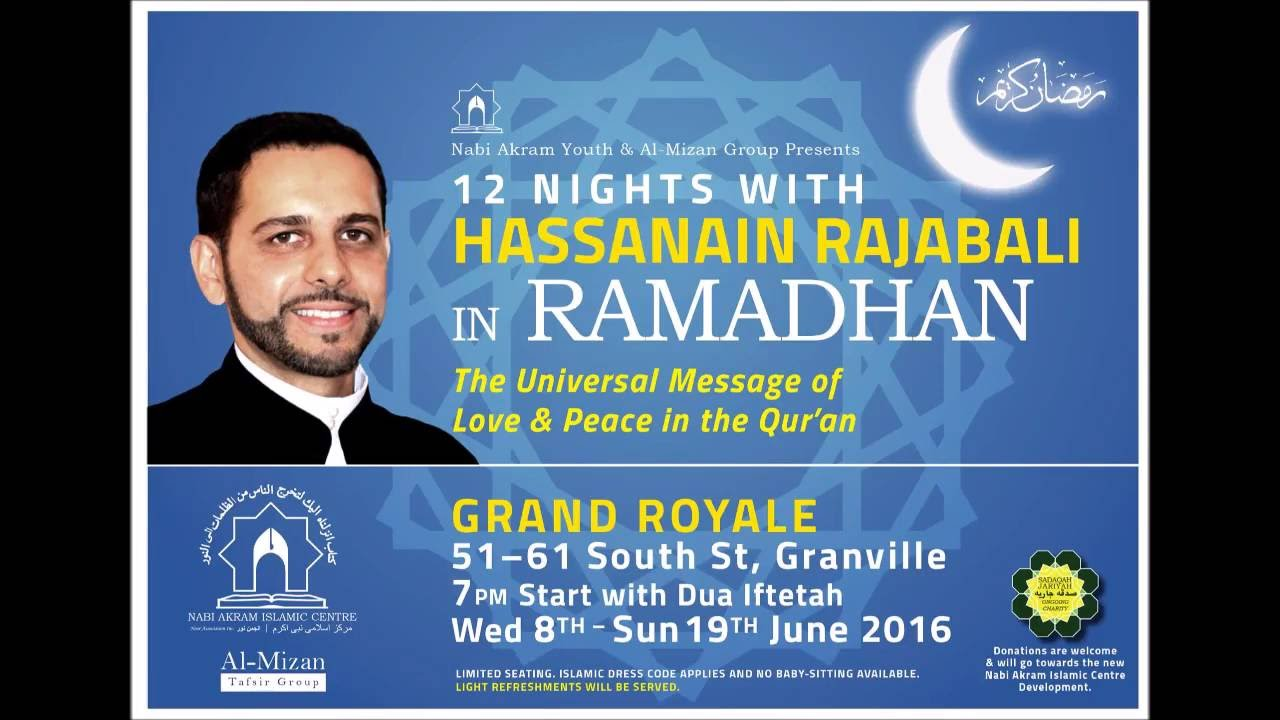 LECTURES] Ramadan 1437/2016 - Page 4 - Ramadhan 1440/2019