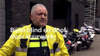 'Nu heb ik het gehoor van een 70-jarige': agent Kadir kreeg vuurwerk naar zich gegooid - RTL NIEUWS