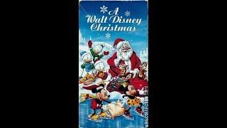 Opening & Closing To A Walt Disney Christmas 1990 Vhs