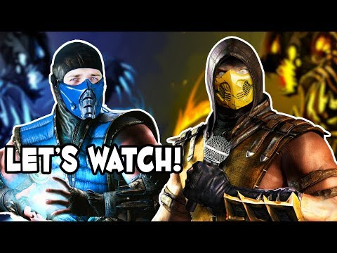 Scorpion VS Sub-Zero Epic Rap Battle REACTION | Scorpion and Sub-Zero Watch & Parody!