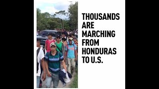 Migrant Caravan: Trump threatens to close US border and send army