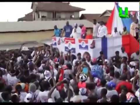 Nana Addo takes campaign tour to Eastern Region