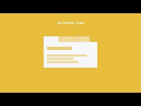 Free Simple Tabs Module for Joomla