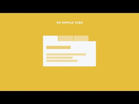 Free Simple Tabs Module For Joomla