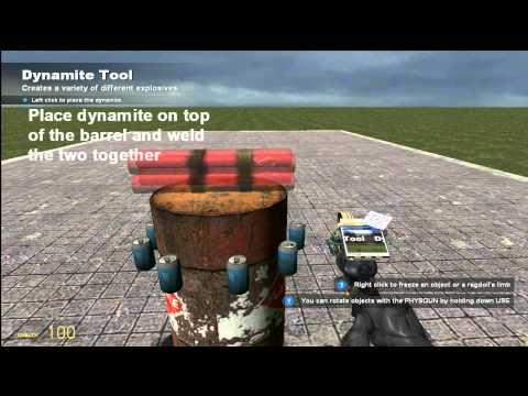 Tutorial: Gmod 12- How to make fireworks [EASY]