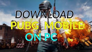 How To Downlod Pubg In Your Pc