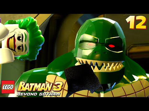 Lego Batman 3: Beyond Gotham - Walkthrough Part 12 - Croc Eats Robin