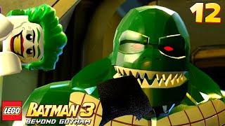 Lego Batman 3: Beyond Gotham - Walkthrough Part 12 - Croc Eats Robin