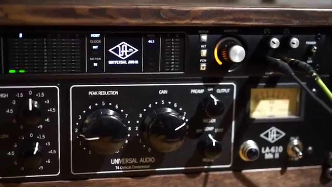 UA 6176 ( 610B & 1176LN) and LA-610 MK2 vs UA plugins and unison - YouTube