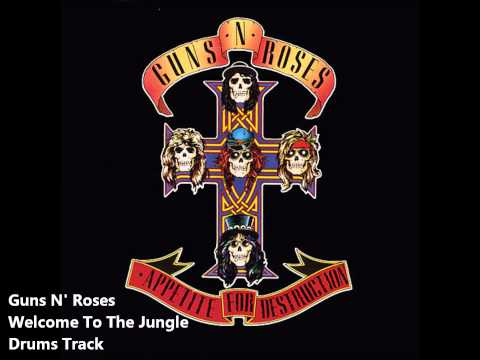 Guns N' Roses Welcome To The Jungle Drums Track