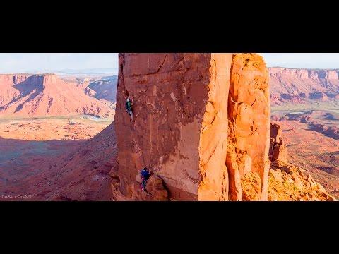 Rock Climbing in Castle Valley, Utah in 4K