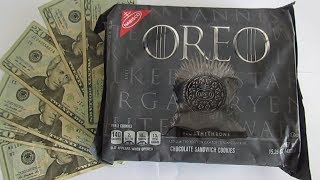 I made $_____  SELLING oreo game of thrones cookies