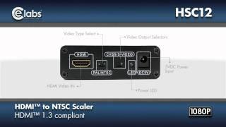 HDMI™ to Composite Scaler