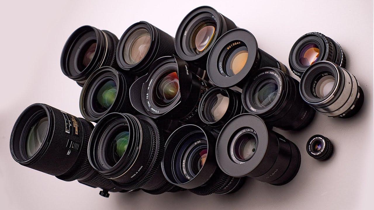 Favorite Lenses for Video (2018 Edition) - YouTube
